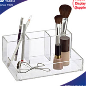 Wholesales Acrylic Clear Tray Organizer, Cosmetic Organizer pictures & photos