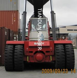Port Tyre for Reach Stacker pictures & photos