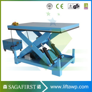 1000lb to 5000lb Table Hydraulic Lift Scissor Lift Work Table pictures & photos