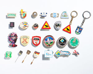 Printed Metall Pins pictures & photos