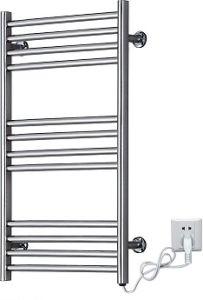 Stainless Steel Wall Mounted Heated Towel Rack, Bathroom Electric Towel Warmer (KMA68)