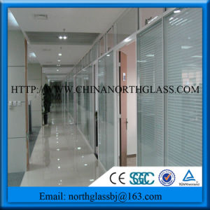 Privacy Blinds Double Glazing Glass for Partition pictures & photos