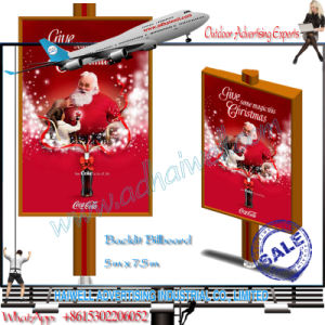 Backlit Advertising Outdoor Flex Banner Sticking Paste Solution Display pictures & photos