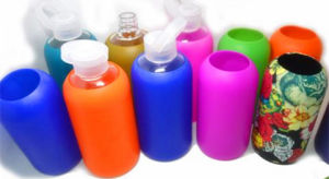 Colorful Bkr Bottle America Popular Sport Bottle Silicone Sleeve Bottle Customize Logo Glass Cup pictures & photos