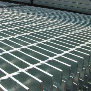 Hot Dipped Galvanized Steel Grating, Stair Treads, Bar Grating pictures & photos