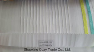 New Popular Project Stripe Organza Voile Sheer Curtain Fabric 0082125 pictures & photos