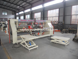 Semi Automatic Wire Stitcher for Double Pieces Carton Box pictures & photos