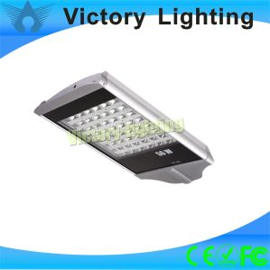 Pure White IP65 Exterior 56W LED Solar Street Light (WY2902) pictures & photos