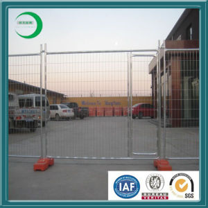 Hot Dipped Galvanized Plastic Concrete Feet Australia Temporary Fencing pictures & photos