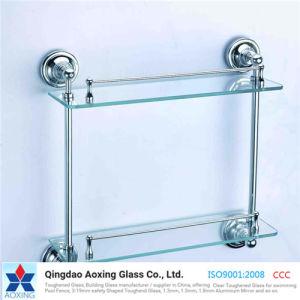 Toughened/Tempered Glass for Bathroom/Shelf/Door/Window pictures & photos