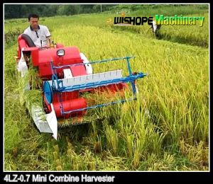 13HP Suitable for Hilly Field Mini Rice Harvester pictures & photos