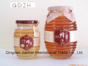 Same Design Oval-Shaped Glass Bottle for Honey pictures & photos