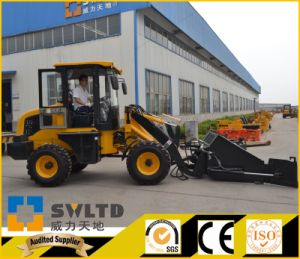 Swltd Brand Articulated 1.2 Ton Small Wheel Loader with CE pictures & photos
