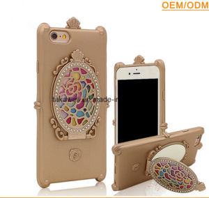 China Wholesale Fancy TPU Mirror Cell Phone Cover Cases for Samsung J2/J5/J7 with Stand Function pictures & photos