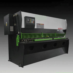 QC12k Hydraulic Shearing Nc Steel Cutting Machine pictures & photos