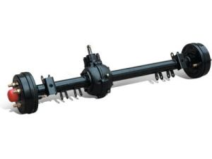 Tapered Rear Axle for Light Tricycle pictures & photos
