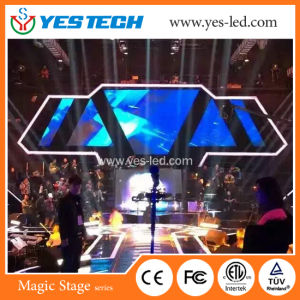 5.7kg Polymer Nanomaterials Cabinet LED Video Hanging Curtain Screen pictures & photos