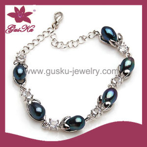 Fashion Bracelet High Quality Natural Shell Pearl Jewelry (2015 Plb-039) pictures & photos