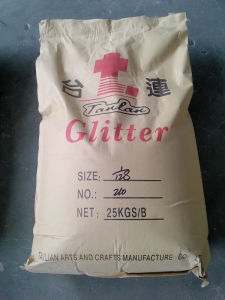 25kg Glitter Powder Bag Packing pictures & photos