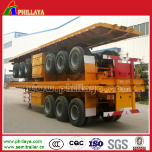 Flatbed Semitrailer for Container Transportation pictures & photos