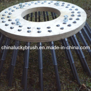 China Manufacture PP Material Wood Plate Side Machine Brush (YY-004) pictures & photos