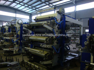 Yb-6800 Six Color Flexographic Printing Press