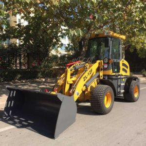 Zl12f Hydraulic Quick Hitch Mini Front End Loader with CE pictures & photos