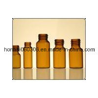 30ml Amber Tubular Glass Vial pictures & photos