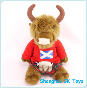 Colorful Cow Soft Toy Cow Cute Plush Animal Toys pictures & photos