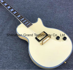 Lp Custom Cream Electric Guitar with Bridge Pickup (GLP-183) pictures & photos