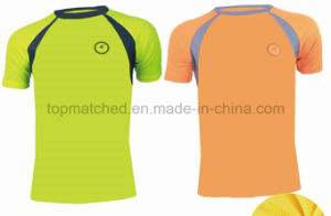 Super Breathable Absorb Sweat Sport Reflective T-Shirt pictures & photos