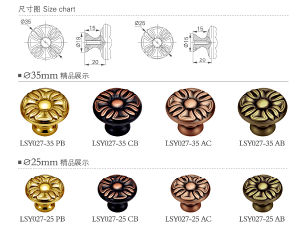 Gold Plated High Quality Brass Furniture Hardware pictures & photos