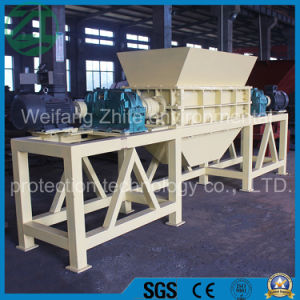 Stable Performance Furniture/Old Mattress/Sofa/Plastic/Wood/Tire/Tyre/Medical Waste/Rubber/ Biaxial/Four Axisl Shredder Machine pictures & photos