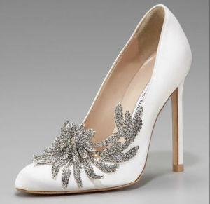 Bridal shoes crystal heels – Top wedding blog world