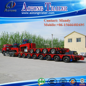 Line-Axle Heavy Duty Transporter, Modular Trailer, Semi Truck Trailer pictures & photos