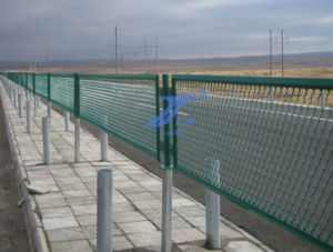 2016 High Quality High-Way Metal Fence pictures & photos