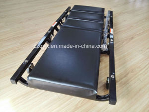 40 Inch Foldable Adjustable Headrest Creeper pictures & photos