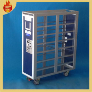 Aluminum Airplane Aircraft Service Trolley with 4 Wheels pictures & photos