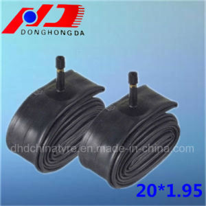 Factory Butyl Natural Rubber 20*1.95 Bicycle Inner Tube
