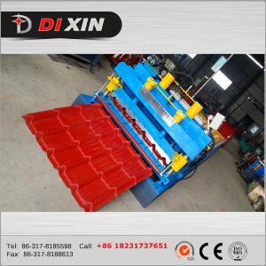 Best Selling Beautiful 1035 Metal Roofing Glazed Roll Forming Machine for Africa pictures & photos