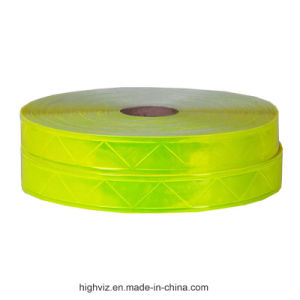 Certificated High Gloss PVC Reflective Tape pictures & photos