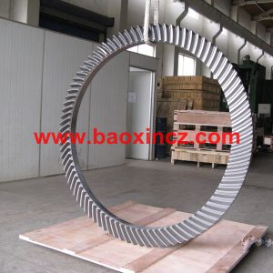 Zp495 Rotary Table Spiral Bevel Gear pictures & photos