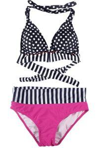 Polka DOT Bikini Set Sexy Swimsuits Swimwear Beachwear pictures & photos