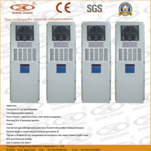 Economic Type Heat Exchanger for Cabinet Cooling Air pictures & photos