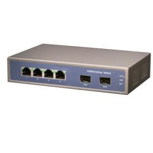 4 Poe+2 SFP Fiber Port Full Gigabit Poe Switch (TS0604GSFP) pictures & photos