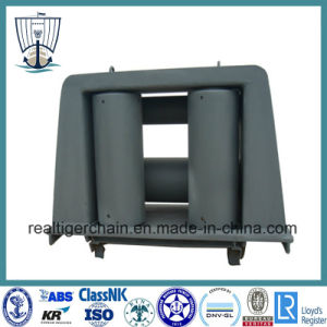 Carbon Steel Four Roller Fairlead for Ropes pictures & photos