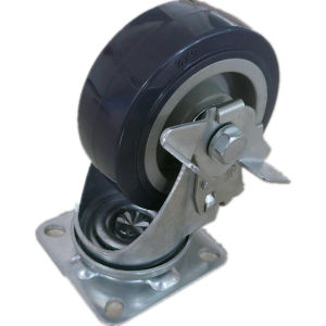 High Quality Thermoplastic Rubber Wheel Caster pictures & photos