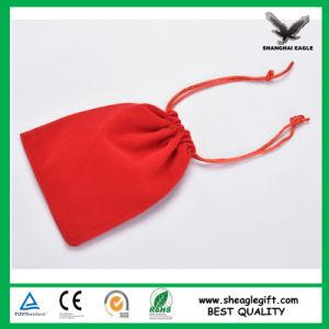 Custom Suedine Velvet Bracelet Pouch with Custom Printing Logo pictures & photos