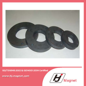 High Quality Customized Ring Permanent Ferrite Magnet for Industry pictures & photos