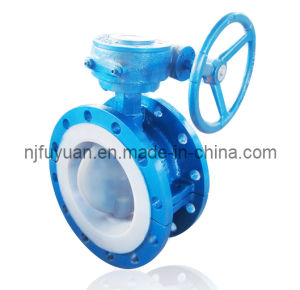 High-Quality PTFE Lined Butterfly Valve (D41) pictures & photos